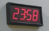 Cyfrowy zegar ścienny ub440